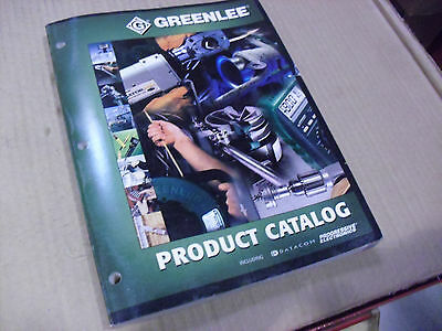 Greenlee Full Line Catalog From 2001