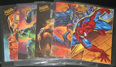1995 Fleer Ultra Spider-Man ULTRAPRINT Set of 10 Prints Marvel Print Ultraprints