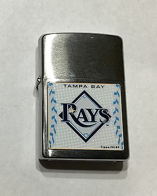 ZIPPO TAMPA BAY RAYS REGULAR SIZE LIGHTER  new old stock 2009 date code