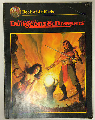 Advanced Dungeons & Dragons Book of Artifacts - TSR2138P
