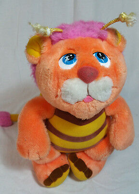 Vintage Hasbro Softies Plush Stuffed Wuzzles Bumblelion 1984 Walt Disney Bee