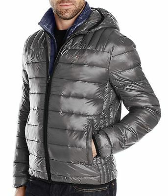 New Tommy Hilfiger Men's Ultra Loft Insulated Packable Hooded Puffer Jacket Coat