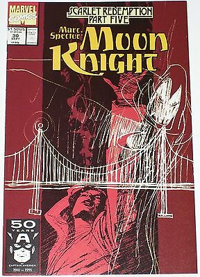 Marc Spector: Moon Knight #30 from Sep 1991 NM