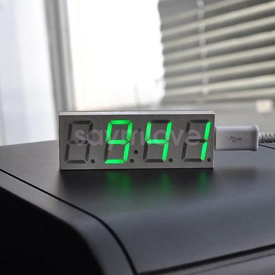 DS3231SN 4 Digit LED Digital Electronic Clock DIY Assemblyed New