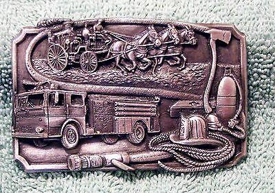 1985 Siskiyou Belt Buckle Dedicated To Firefighters