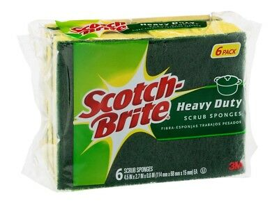 MMM426 - Scotch-brite Heavy-Duty Scrub Sponge, New