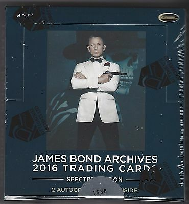 2016 James Bond Archives SPECTRE Edition 2 Box Lot Factory Sealed
