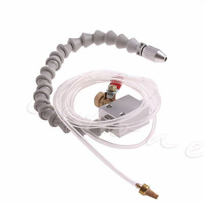 Gray Mist Coolant Lubrication Spray System For Air Pipe CNC Lathe Mill Drill 8mm