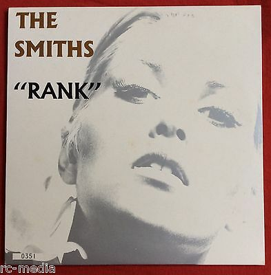 """THE SMITHS -Rank- Rare UK 2 x 10"""" LP Limited Numbered Edition (Vinyl Record)"""