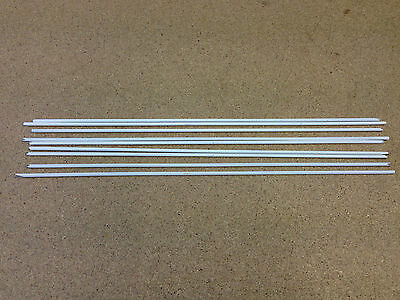 ** Flux Coated Brazing Rods 2.4mm x 300mm 9 off ** General Purpose **