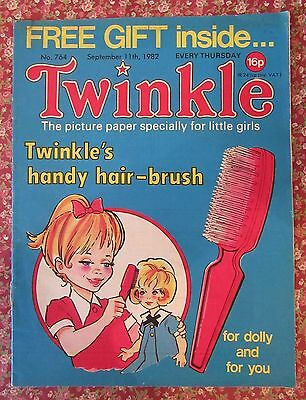 Twinkle Comic 11 September 1982 Vfn+ Puzzles Not Done.