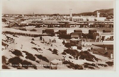 RP Early PRESTATYN HOLIDAY CAMP from Sandhills - huts, buildings, people
