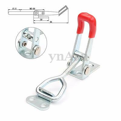 1/2/5pcs Home Toolbox Case Spare Fitting Metal Toggle Latch Catch Adjustable 4''