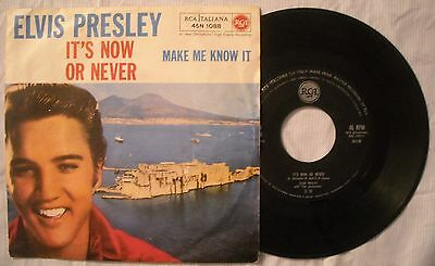 45 Elvis Presley - It's Now Or Never -  Anno 1960 - Rca 45N 1088