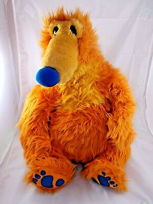 """Mattel Bear in the Big Blue House Plush LARGE Sits 18"""" Tall"""