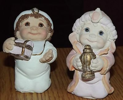 Dreamsicles Gaspar & Balthazar..Nativity Scene Figurines