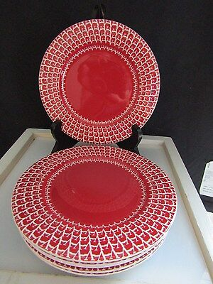Valentino V 70 Home Collection Bread & Butter Plates Lot of 6