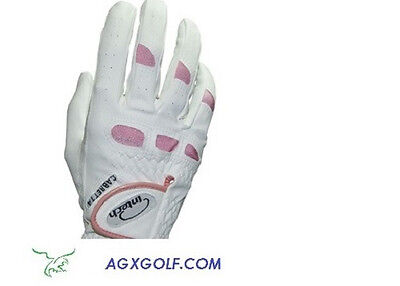 New Ladies Intech Cabretta Leather Golf Gloves; For Left Handed Golfers 6 Pack