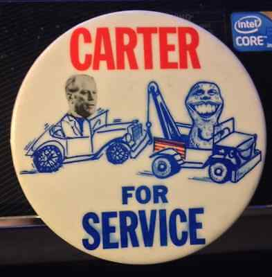 "1976 3 1/2"" ""carter For Service"" Pinback"