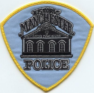 old vintage MANCHESTER MISSOURI MO POLICE PATCH