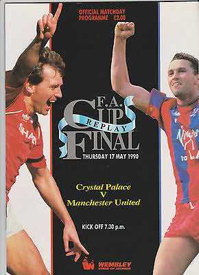 1990 F.A.Cup Final REPLAY.C.Palace v Man.United
