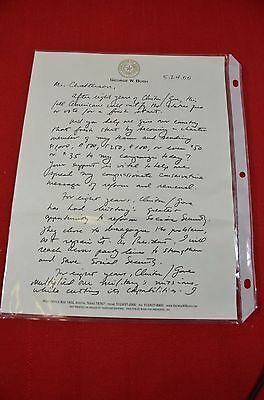2000 George W. Bush Campaign Fundraising Letter Governor of Texas GOP #1388