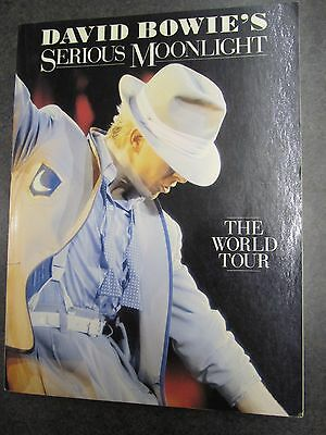 """David Bowie's """"Serious Moonlight"""" The World Tour - 1984 Collector's Book"""