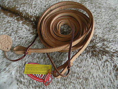 Light Leather 8 Foot Long Split Western Leather Reins Nice Quality Leather