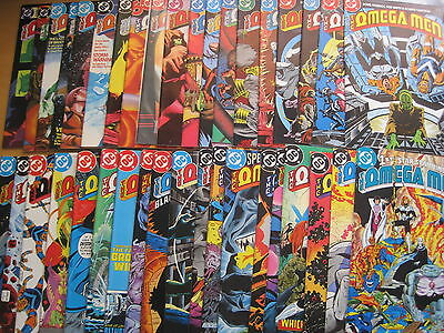 OMEGA MEN :COMPLETE 38 ISSUE SERIES featuring # 3 1st APPEARANCE of LOBO.DC.1983
