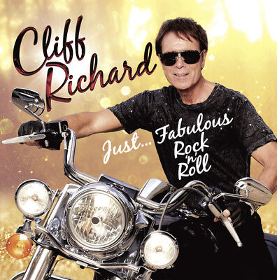 Cliff Richard : Just Fabulous Rock 'N' Roll CD (2016) ***NEW***