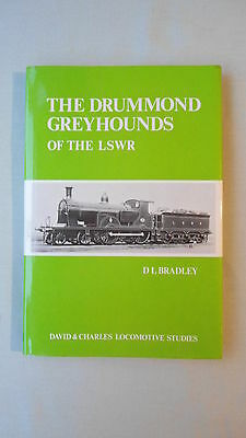 Book - The Drummond Greyhounds Of The Lswr D L Bradley David & Charles 1983 H/b