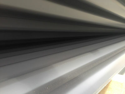 Clearance Limited Stock Colorbond Monument Corrugated 1950mm Roofing sheets