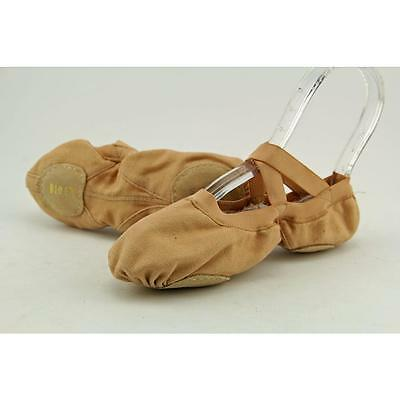 Bloch Pro Elastic Youth US 3.5 Tan Dance Pre Owned  1388
