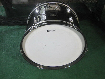 Rogers Bass Drum 22x14 with Heads - No Hardware - VG+ to Excellent Condition