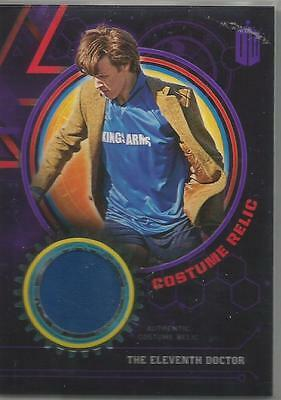 Dr. Who Extraterrestrial Encounters The 11Th Doctor Costume Relic Card #2/50