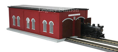 MTH Trains 30-90425 Dual Stall Engine Shed- NEW