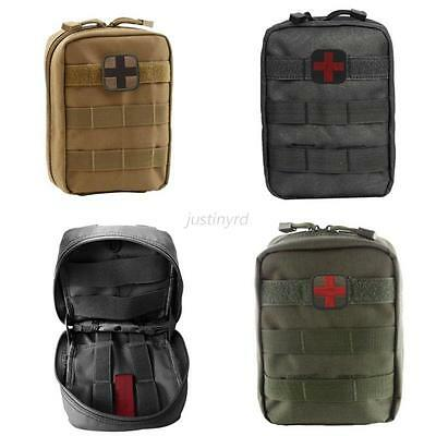 New 600D Compact Hunting Military Tactical MOLLE Belt Medical Utility Pouch Bag