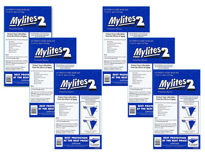 300 - E. GERBER MYLITES 2 CURRENT / MODERN 2-Mil Mylar Comic Bags Sleeves 700M2