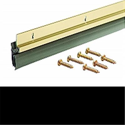 Md Building Products 5702 36 in. Brite Gold Door Sweep Dv-1