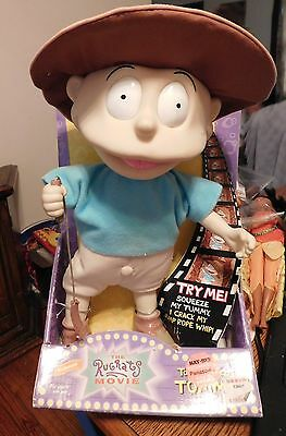 "Vintage Nickelodeon Rugrats ""Rugrats the Movie"" to the Rescue Tommy Pickles Doll"