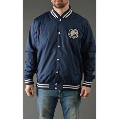 Roots of Fight Renzo Gracie Lightweight Stadium Jacket - Navy