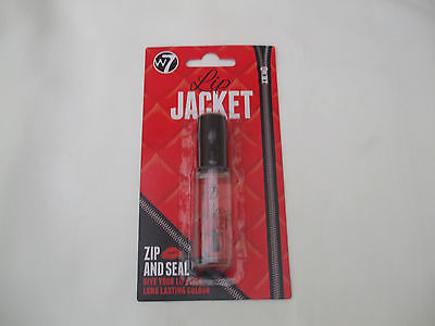 W7 Lip Jacket Zip and Seal 5ml New