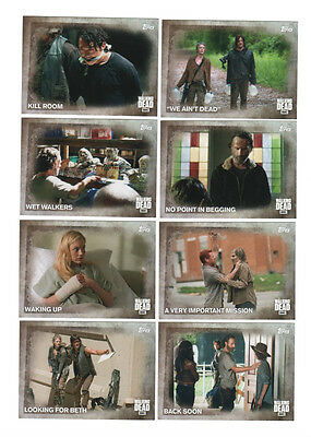 2016 The Walking Dead Season 5 Base Set #1-100 Topps