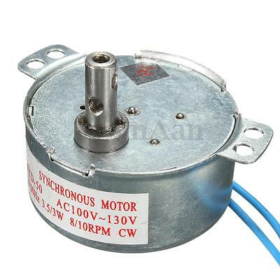 110V AC 8/10RPM CW/CCW TYD-50 3W Synchronous Motor Low Noise Robust Torque Motor