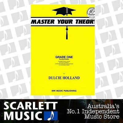 Master Your Theory Grade 1 Theory Book *BRAND NEW*