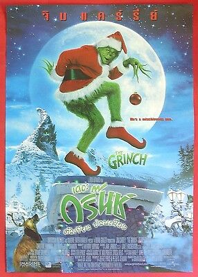 How the Grinch Stole Christmas (2000) Thai Movie Poster Demi Moore