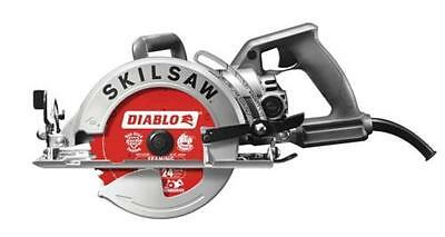 SKILSAW SPT77W-22 7-1/4 in. Aluminum Worm Drive Circular Saw with Diablo Carbide