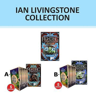 Fighting Fantasy Series Collection By Ian Livingstone Gift Wrapped Set New