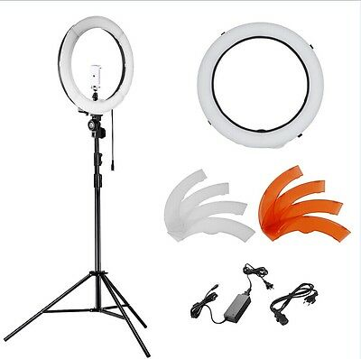 "Neewer 36W 180pcs LED Dimmable 14"" SMD Ring Light kit with Light Stand"