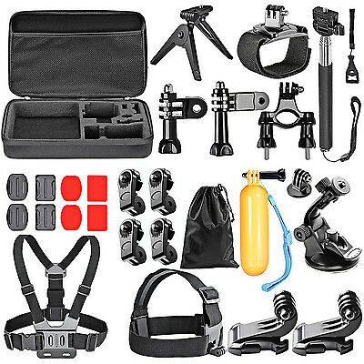 Neewer 25 in-1 Outdoor Sport Accessory Kit for GoPro Hero 4/3+/3/2/1/